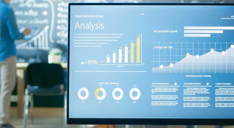 Analytics monitor